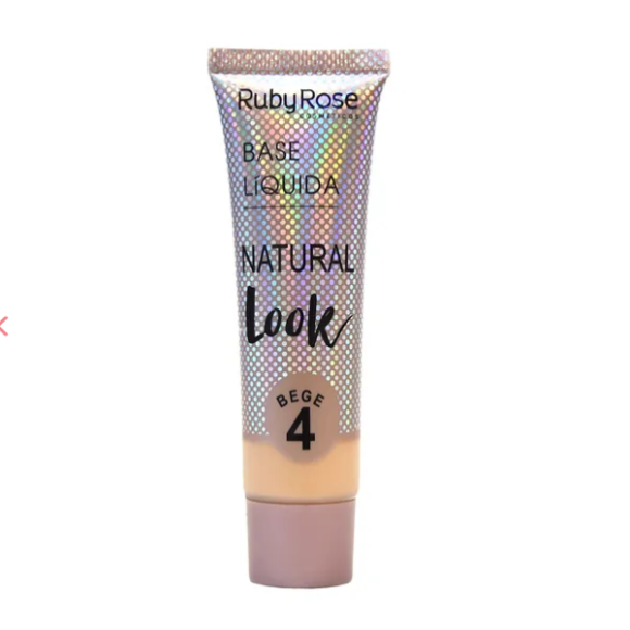 Base Líq. Natural Look Ruby Rose - Bege 4