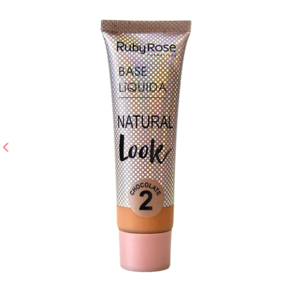 Base Líq. Natural Look Ruby Rose - Chocolate 2