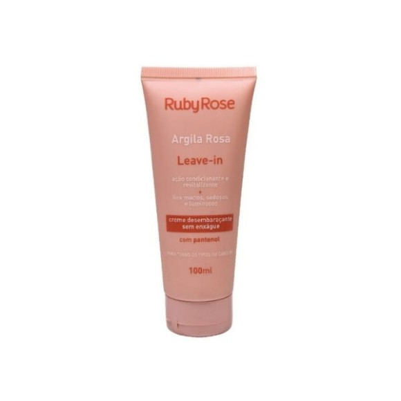 Leave-in Argila Rosa Ruby Rose 100ml
