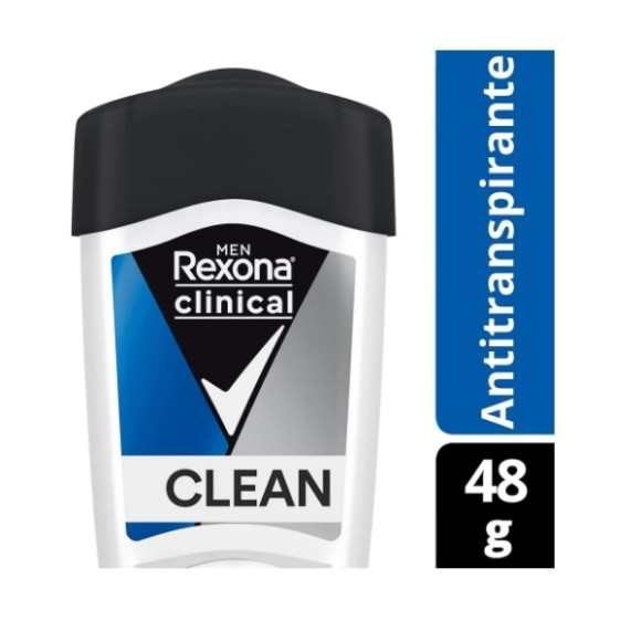 Anti Transpirante Clinical Rexona Clean Men 48g