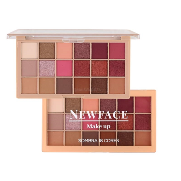 Paleta de Sombras New Face