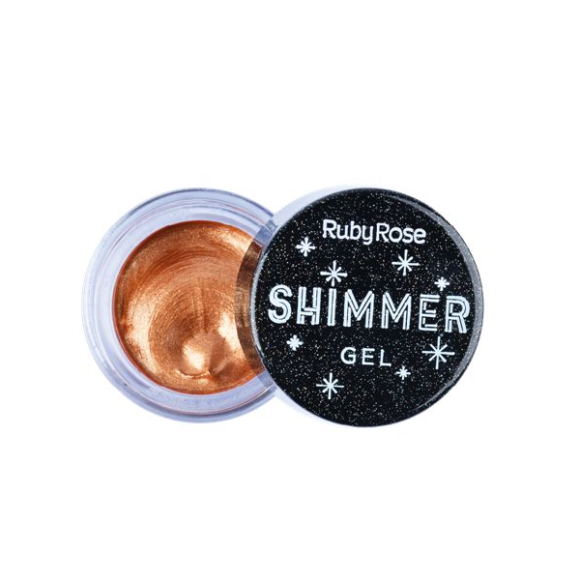 Shimmer Gel Ruby Rose