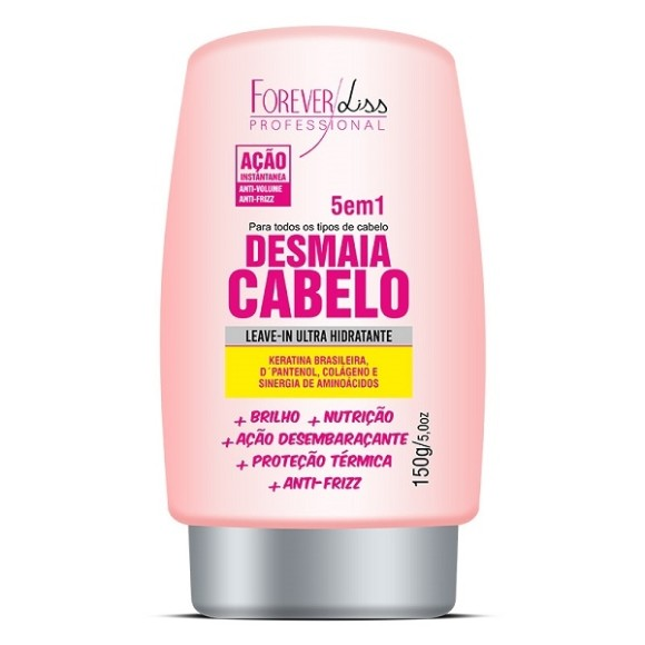 Leave in Desmaia Cabelo Forever Liss 150g